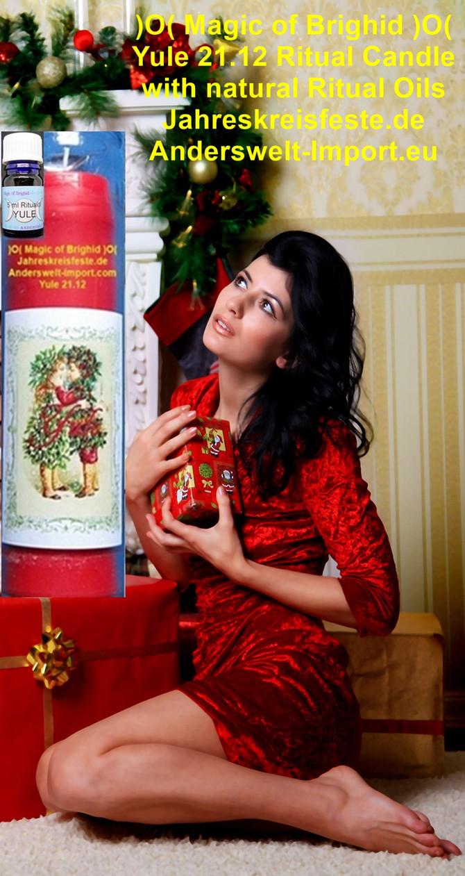 Yule Ritual, Julfest 21. Dezember Wintersonnwende