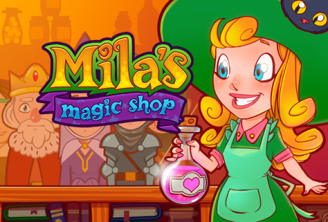 Milas Magic Shop Hexenladen, Bibi Blocksberg, Bubble Witch Kostenlose Hexenspiele, Free witch games