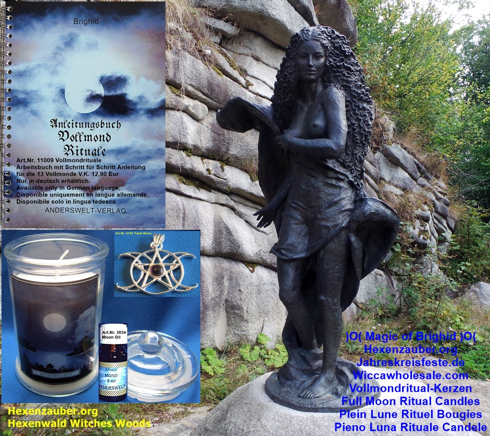 Full Moon Ritual Candles