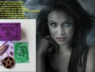 Hexen Witch Box Starter Set, Wicca Selbstinitiation ich bin die Hexe