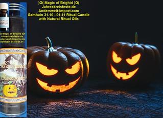 Samhain Halloween Ritual Anleitung