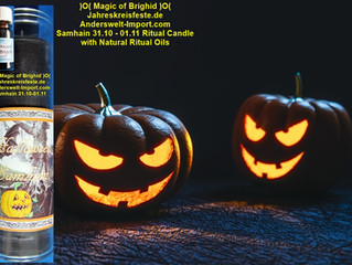 Samhain Istruzioni rituale di Halloween Italiano