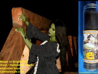 Halloween Samhain Ritual Kerzen