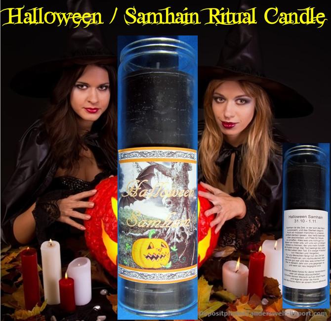 Halloween Samhain Ritual Candle