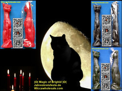 figurenkerze katze figure candle cat