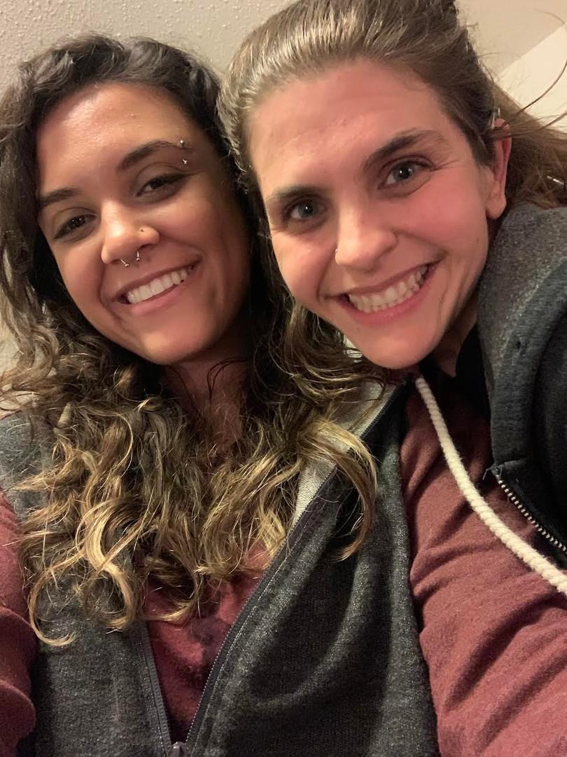 Tatiana and Michelle