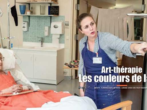 L'art-thérapie redonne des couleurs à la vie en soins palliatifs