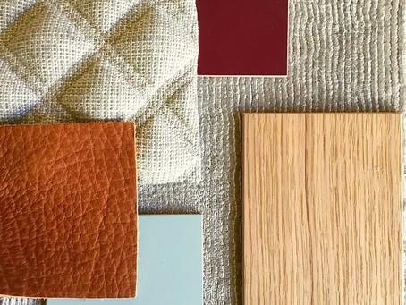 Interior Design Mood #1 Farb- und Materialkonzept für zu Hause