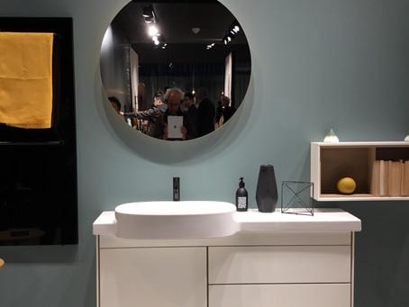 Interior Design: Badgestaltung – Die letzte weiße Oase bekommt Farbe und Erdung