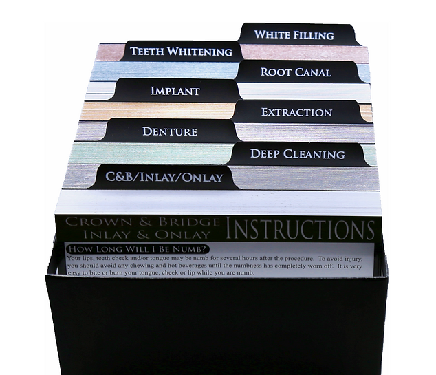 Dental Care Card Introductory Set