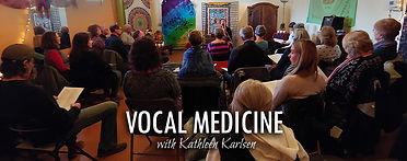 Vocal Medicine Workshop with Kathleen Karlsen