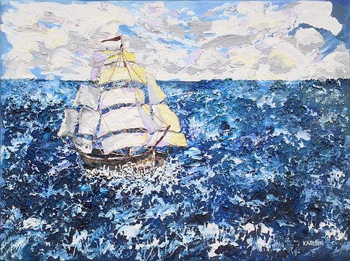 A Fortunate Wind Canvas Print