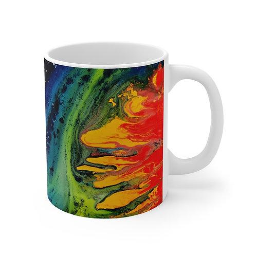 """Fire in the Sky"" Mug"