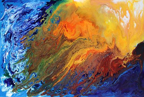 """Splash of Sun 24x36"""""""