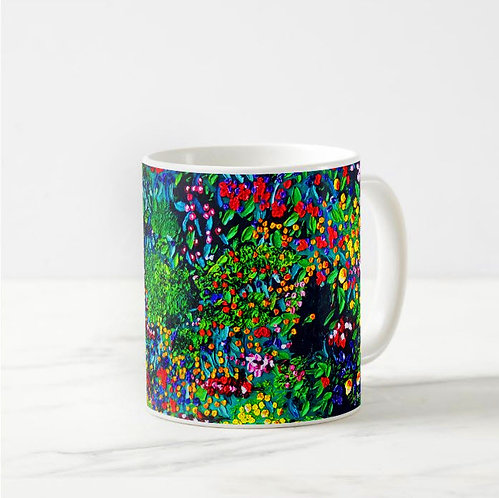 River of Flowers Coffee Mug