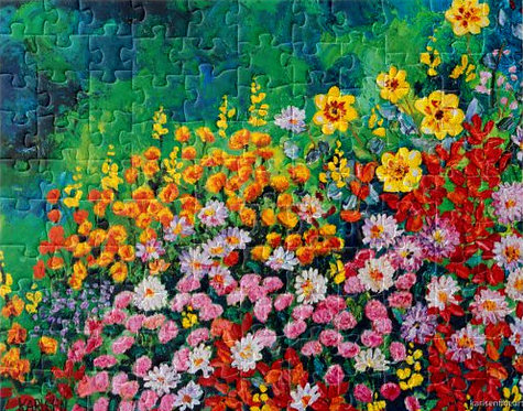 I Dream of Flowers Puzzle