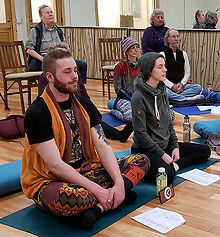 Blissful meditation through mantras and chanting