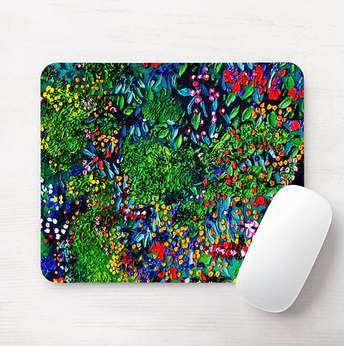 River of Flowers Mouse Pad