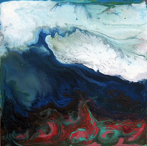 """Mediterranean Clouds 10x10"""""""