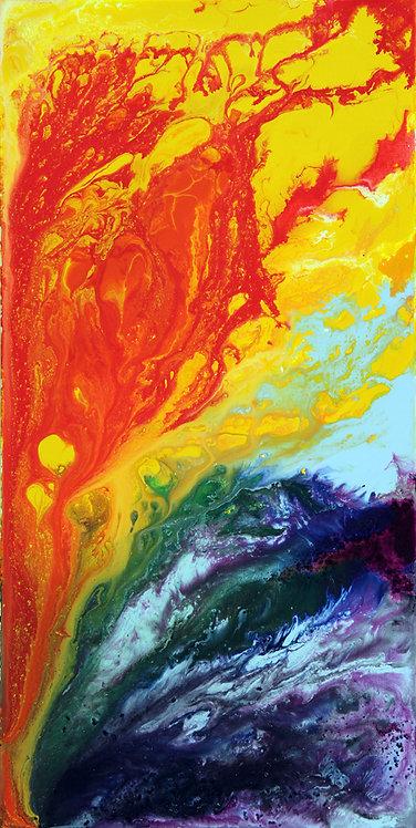 Cosmic Rainbow Print