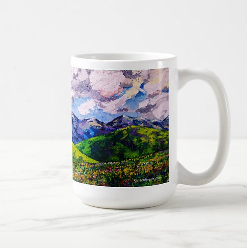Springtime in the Mountains Coffee Mug