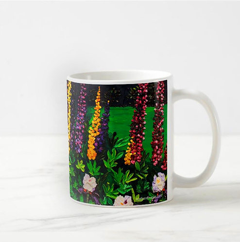 Lupine Majesty Coffee Mug