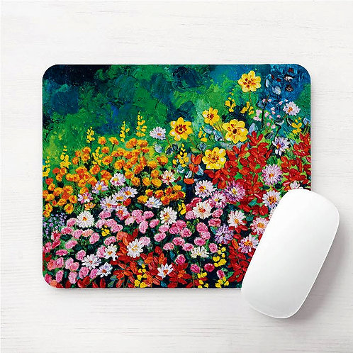 I Dream of Flowers Mouse Pad