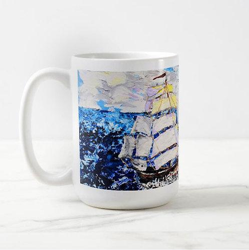 A Fortunate Wind Coffee Mug