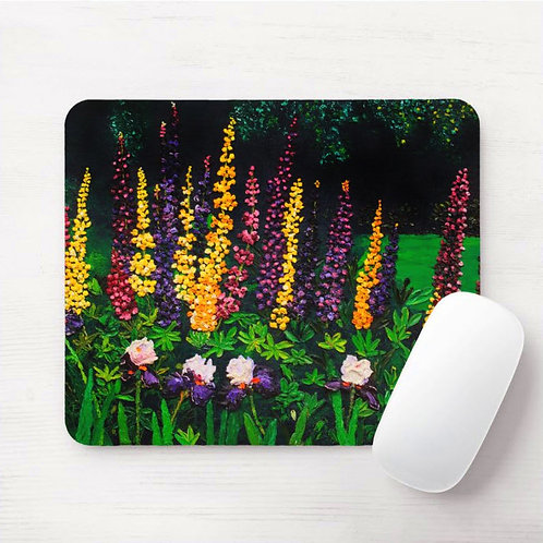 Lupine Majesty Mouse Pad