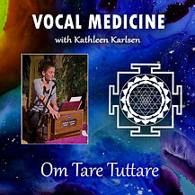 Mnatras and chanting with Kathleen Karlsen on YouTube