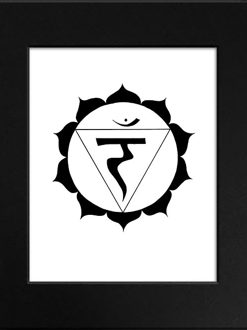 Solar Plexus Chakra Print