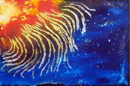 """Far-Flung Stars 24x36"""""""