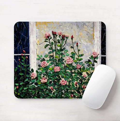 Sunday Roses Mouse Pad