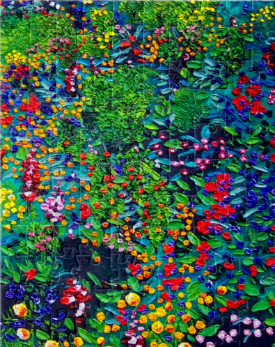 River of Flowers Puzzle