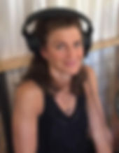 Kathleen Karlsen recording chants for mantra album