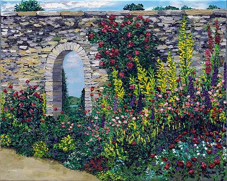 The Forgotten Garden Canvas Print