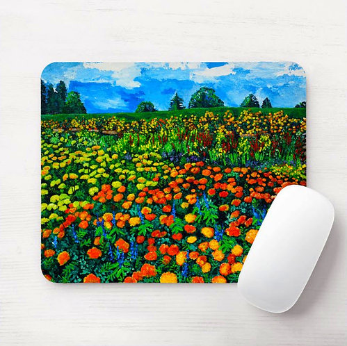 Meadow of Gold Mouse Pad