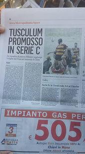 tusculum, promozione, serie c1, rugby, frascati