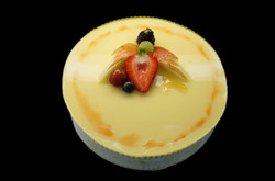 Passion Fruit Mousse Cake