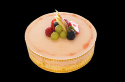 Guava Mousse Cake