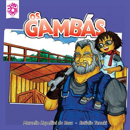 Livro infantil - Os Gambás