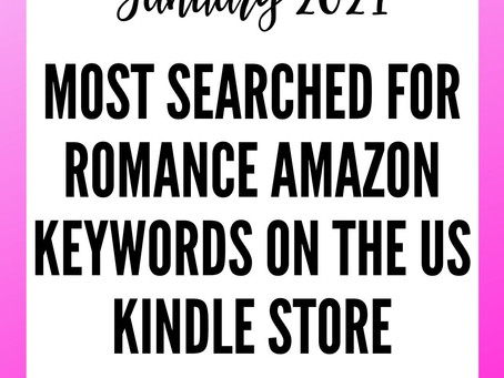 Most Popular Romance Keywords on Amazon in January 2021