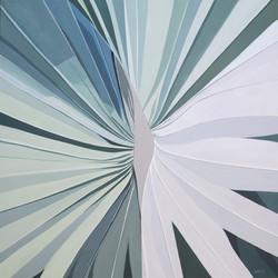 Silver Palm Mandala