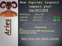 Jupiter's transit impact on you