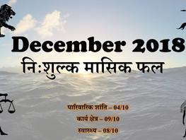 दिसम्बर राशिफल - Astro Life Sutras