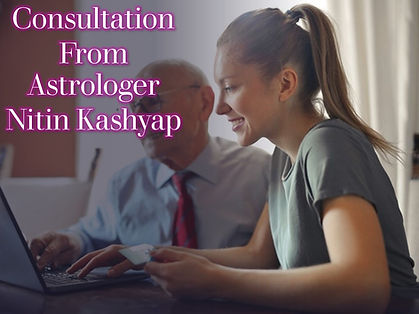 Consultation from Astrologer Nitin Kashy