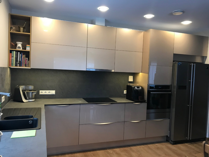 Modernus virtuvės komplektas