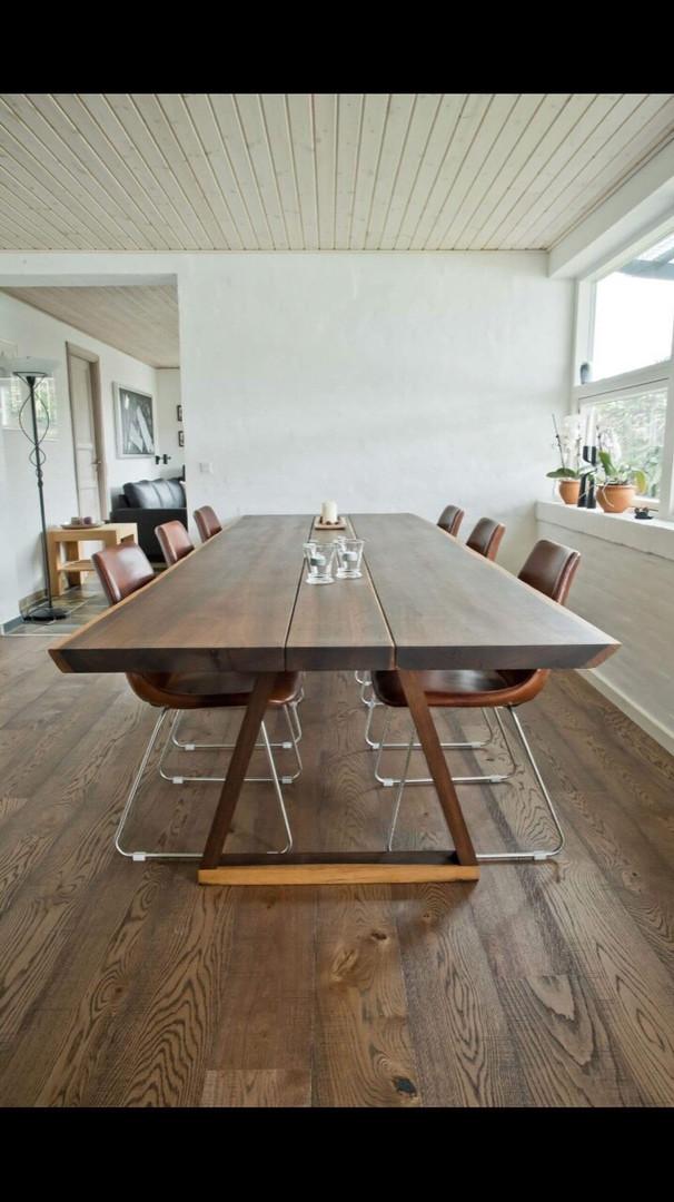 Ąžuolinis 3 lentų stalas
