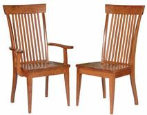 Medžio masyvo kėdės