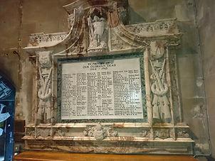 Christ Church Swindon, War Memorial renovation after